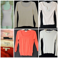 Lot XS, Small Designer Tops Sweaters Tanks Banana Republic-Limited