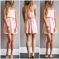 A Summer Sundress in Blush