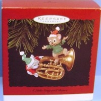 1996 A Little Song and Dance Hallmark Retired Ornament