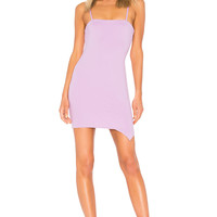 by the way. Billie Wrap Bodycon in Lavender