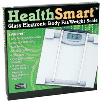 Healthsmart ELSCALE4 Glass Electronic Body Fat Scale, NA