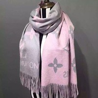 Louis Vuitton men and women fashion accessories comfortable cashmere scarf silk shawl size: 200*45