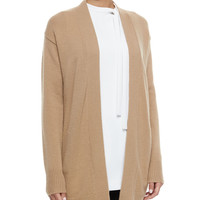 Analiese Long Cashmere Cardigan, Size: