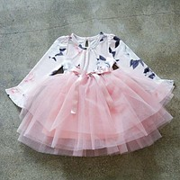 Winter Baby Girl Party Dresses For Girls Frock Infant Costume For Kids Clothes Children Clothing Girl Wear