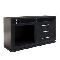 """CorLiving Holland 60"""" TV Stand with Fireplace"""