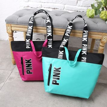 Canvas Tote Bag Waterproof Bags Shoulder Bag [415606571044]