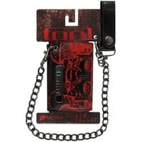 Tool - 10000 Days Leather Wallet W/ Chain