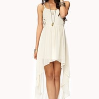 Pretty Cutout High-Low Dress | FOREVER 21 - 2000076198