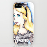 Alice iPhone Case by Krista Rae | Society6