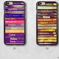 Disney Story Books Protective Phone Case For iPhone 7 7 Plus Case, H30