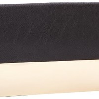 plated clutch,black,one size