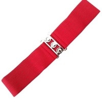 Buy Vintage Stretch Belt Red
