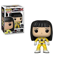 Power Rangers Yellow Ranger No Helmet Pop! Vinyl Figure #674