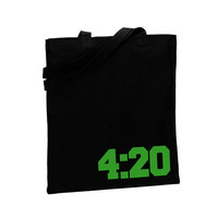 420 Bong Bag Weed Tote Pot Bag Cannabis Marijuana Hippy Accessory Style