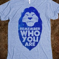 Remember Who You Are (Mufasa) | Skreened T-shirts