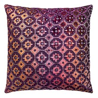 Small Moroccan Velvet Wildberry Pillows by Kevin O'Brien Studio