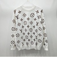 LV Louis Vuitton Women Fashion Letter Pullover Sweater