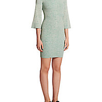 Stella McCartney - Ribbed Wool Sweater Dress - Saks Fifth Avenue Mobile