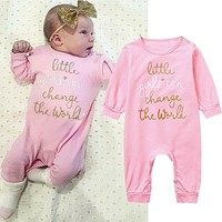 Newborn Baby Girl Romper Bodysuit Jumpsuit Playsuit Infant Clothes Outfit US
