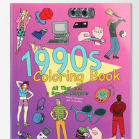 The 1990s Coloring Book: All That And A Box of Crayons By James Grange  - Urban Outfitters