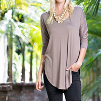 Keep it Simple Knit Tunic (+ Colors)