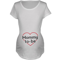 Old Glory - Mommy To Be Maternity Shirt - 2X-Large = 1946207044
