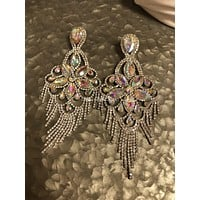 Glamorous Large Chandelier Earrings Jewelry