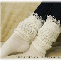 Cuddle Bunny sock / super duper thick  by CatherineColeStudio
