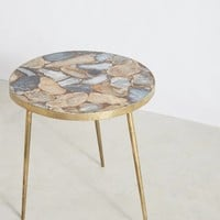 Agate End Table