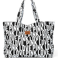 Oversized Tote Bag - PINK - Victoria's Secret