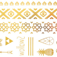 Flash Metallic Tattoo 16