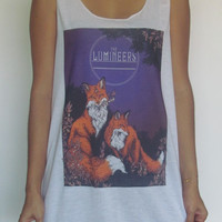 The Lumineers Vest Tank Top Singlet T-Shirt Noah And The Whale Mumford And Sons