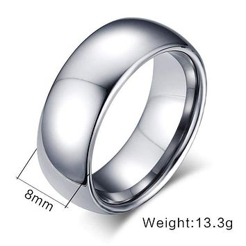 Men's Tungsten Ring Band