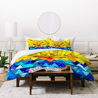 Fimbis Sun And Sea Duvet Cover