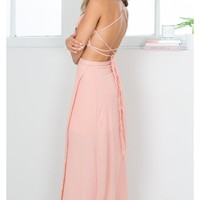 Sweeping Plains two piece set in blush