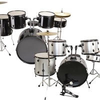 New COMPLETE 5 Piece ALL-IN-ONE ADULT DRUM SET CYMBALS FULL SIZE - Cymbal & Drum Cases - Percussion Accessories - Musical Instrument & Orchestra Accessories - Hobbies & Creative Arts - Arts & Entertainment - Others