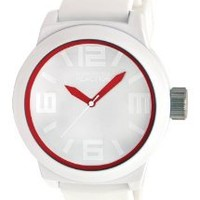 Kenneth Cole Reaction Men's RK1241 Triple White Red Details Watch: Watches: Amazon.com
