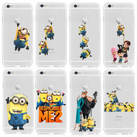 Despicable Me Yellow Minion Design Case cover For iphone 6 4.7 inch