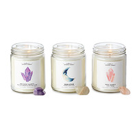 Hidden Crystal Candle | healing crystals, scented candles
