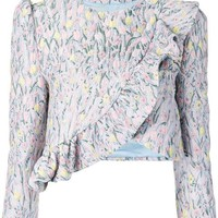Vivetta Floral Pattern Embroidered Jacket - Farfetch