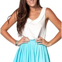 Kiss & Tell skirt in blue    Show Pony Fashion online shopping