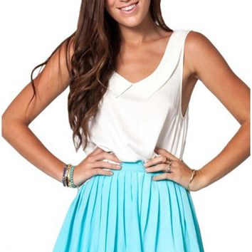 Kiss & Tell skirt in blue  | Show Pony Fashion online shopping