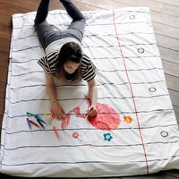 Doodle Duvet in a Single from Stitch designworks | Made By Stitch designworks | £45.00 | Bouf
