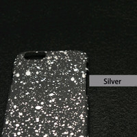Silver Starry Sky Phone Case For iPhone 7 7Plus 6 6s Plus 5 5s SE