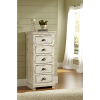 Willow Distressed White Lingerie Chest | Overstock.com Shopping - The Best Deals on Dressers
