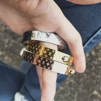 LV classic style brand personality wild men and women bracelets