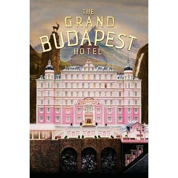 Grand Budapest Hotel Movie Poster Puzzle 300 Piece Jigsaw Puzzle