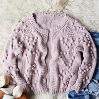 Xoxo Sweater in Mauve