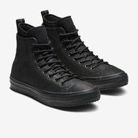 Converse Chuck Taylor All Star Waterproof Leather High Top Boot Unisex Leather Boot. Nike.com