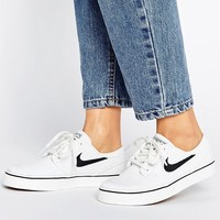 Nike SB Zoom Janoski Sneakers In White at asos.com